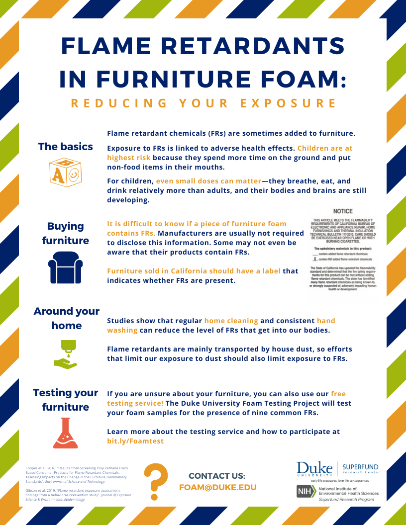 Flame Retardants: Reducing Your Exposure